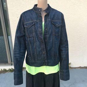 Gap jean jacket heavy denim blue